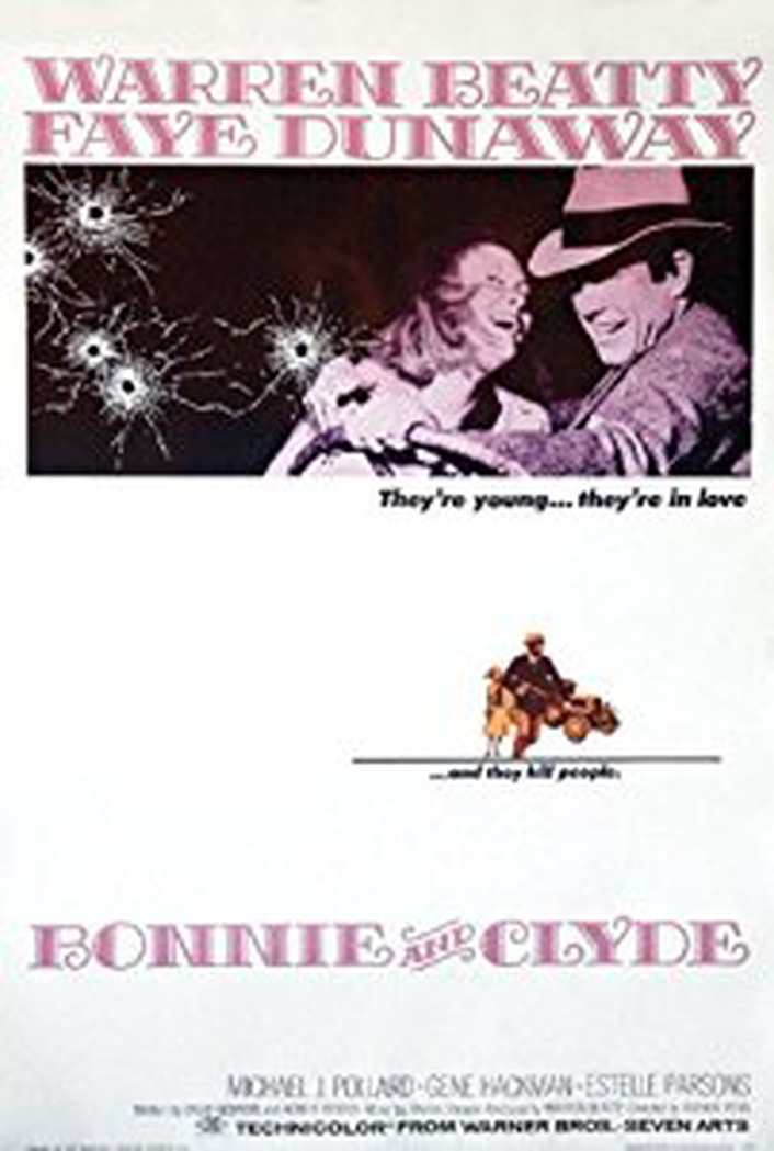 "50th anniversary of ""Bonnie and Clyde"""