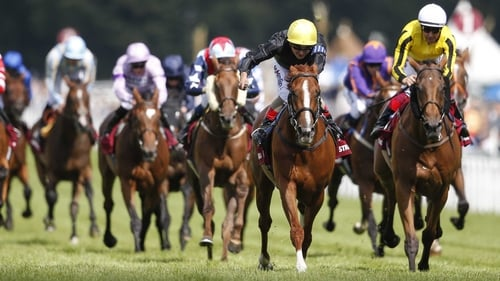 Stradivarius denies Big Orange as Atzeni rides four winners at Goodwood