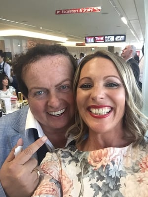 Marty Morrissey and Suzanne Garvey