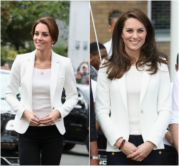 Kate Middleton's Zara blazer