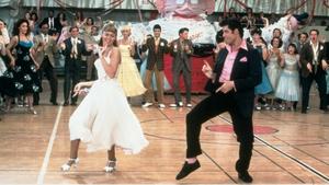Oliva Newton-John and John Travolta in Grease