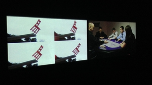 Michelle Browne, Risk (2011) -  Screening Room. Crawford Art Gallery December 2014.
