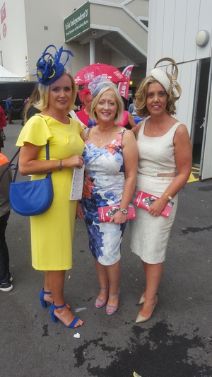 Deirdre Buckley, Teresa Glynn and Niamh Cassidy