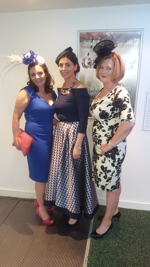 Denise o Callaghan, Rhona Keaveny and Cathy Corbett
