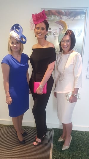Aoife Lavan, Nicola O' Connell and Mary Supple