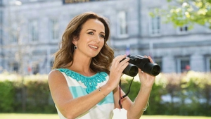 Lorraine Keane was a guest judge at the 'Most Stylish Evening' event on Ladies Day at the Galway races today. We caught up with the presenter to steal her style secrets.