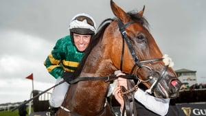 Barry Geraghty won his first Galway Hurdle this afternoon