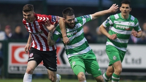 Derry took a big step towards securing European football with a win in Tallaght