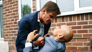 Robert gets physical with Rich on Coronation Street