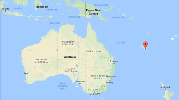 216m worth of cocaine bound for australia seized the yacht was towed to new caledonia pic google maps gumiabroncs Choice Image