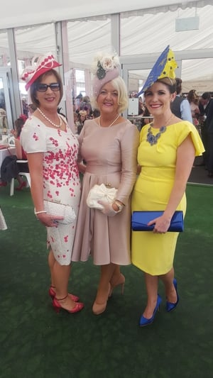 Annette Jennings, Mary O' Hallornan and Paige Farrell