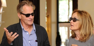 Sam Shepard with Jessica Lange in 2009. EPA/Claudio Onorati