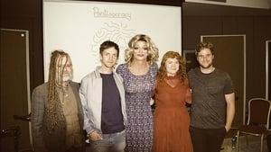 Pantisocracy guests (L to R) Duke Special, Emmet Kirwan, Jen Coppinger and Talos join Panti Bliss (centre)