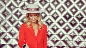 Lady in Red: Aoibhín Garrihy rocks the Galway Races