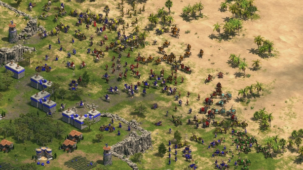 Age of Empires battle