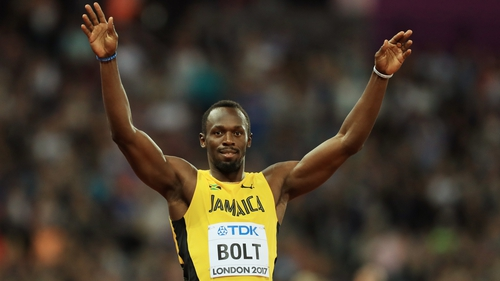 Multiple Olympic champion Usain Bolt holds world records in the 100m and 200m