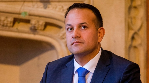 Leo Varadkar meets with Justin Trudeau during visit to Canada