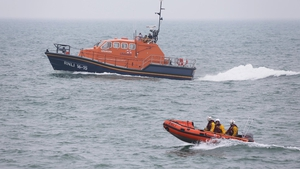 Shoreham lifeboat crews take part in the search operation (Pic: @SLifeboatRNLI)