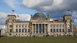 The Reichstag is a popular spot for tourists in Berlin