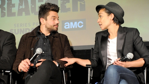"""Dominic Cooper, who is in a relationship with Ruth Negga, is surprised he doesn't have """"loads of kids"""""""