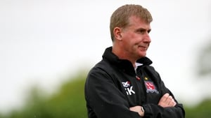 Dundalk manager Stephen Kenny has responded to John Caulfield's claims