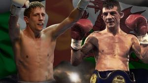 Eric Donovan (L) will fight Dai Davies in Dublin next month