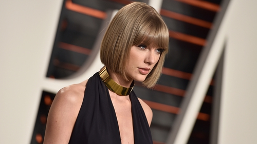 Taylor Swift appears in court