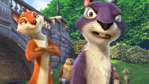 Andie and Surly take on the town hall and the evil Mr Muldoon in The Nut Job ii
