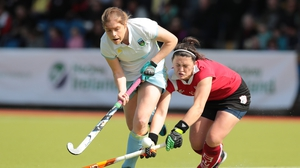 Katie Mullan and Roisin Upton will both be wearing green at the Eurohockey Championships