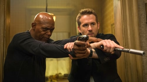 Samuel L Jackson and Ryan Reynolds in The Hitman's Bodyguard