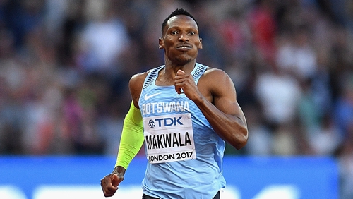 Isaac Makwala will run his 200m heat solo