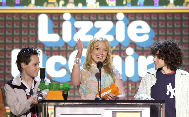 Hilary Duff at Nickelodeon's 16th Annual Kid's Choice Awards 2003