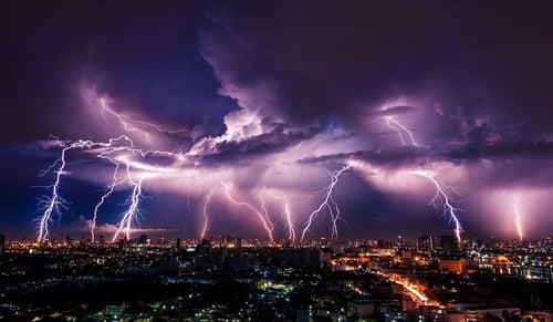 Lighting up the city. Photo: Vasin Lee/Shutterstock