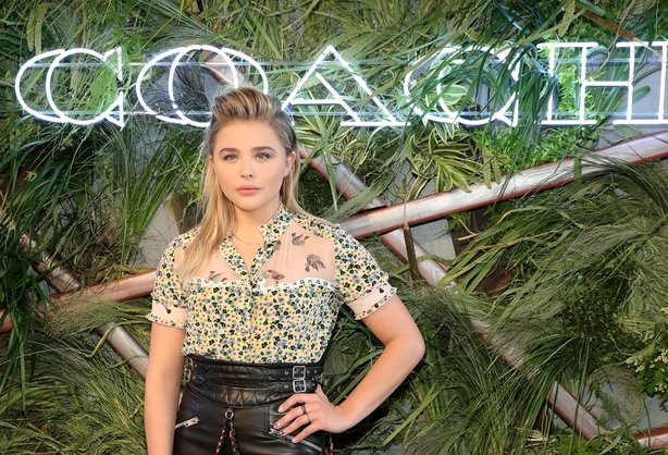 Chloë Grace Moretz attends the '2016 Coach And Friends Of The High Line Summer Party' at The High Line on June 22, 2016