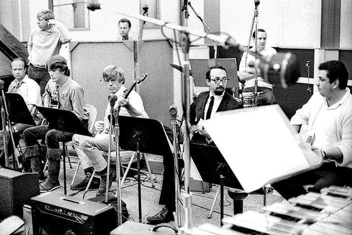 Studio session musicians The Wrecking Crew
