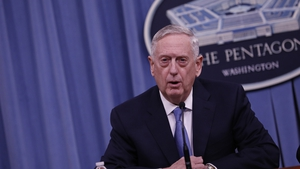 Jim Mattis' stressed the US effort is currently focused on diplomacy