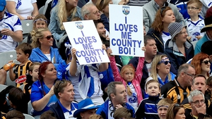 Waterford supporters get behind their team