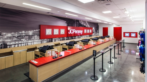 JC Penney saw like-for-like sales decline for the fifth straight quarter
