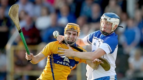 Kieran Bennett of Waterford (r)
