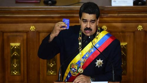 Venezuela's economy is in freefall, with many blaming President Nicolás Maduro