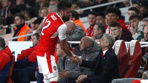 Olivier Giroud delivered for Arsenal