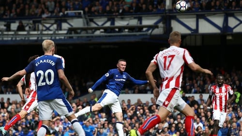Wayne Rooney struck for the only goal at Goodison