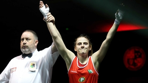 Michaela Walsh is one win away from a medal