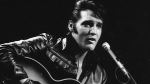 Elvis on the celebrated 1968 comeback special on NBC