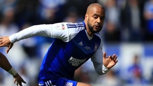 David McGoldrick struck for Ipswich