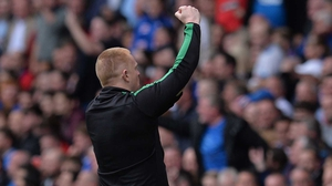 "Neil Lennon: ""You all hear it. They are singing sectarian songs at me. It's just a little bit of 'have some of that'."""