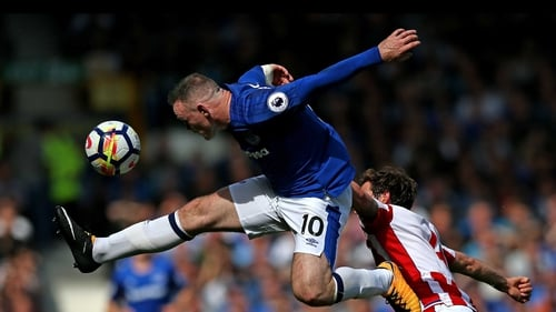 Wayne Rooney scored on his return to Everton