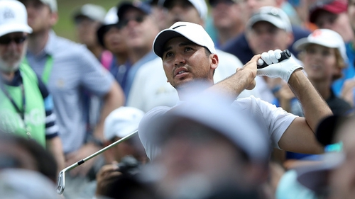Jason Day's hopes of claiming a second US PGA Championship faded in the third round