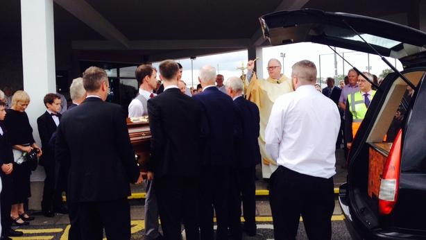 Tony Keady funeral