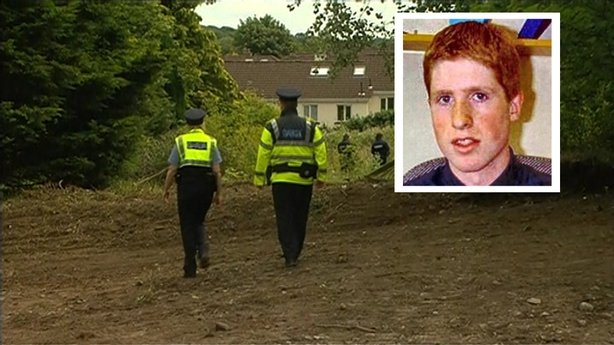 Gardai discover a gun during the dig to locate Trevor Deely